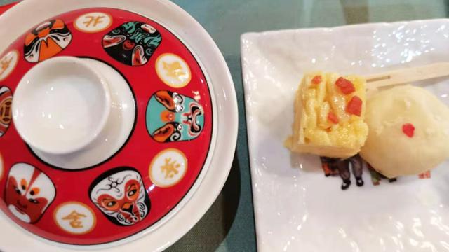 老舍茶館的京味小食味美,顏值高!