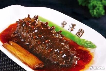 吃海參就到豐澤園!