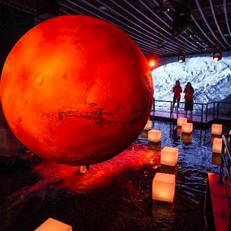 《火星2035》沉浸式科学艺术展:探秘火星 走近祝融号