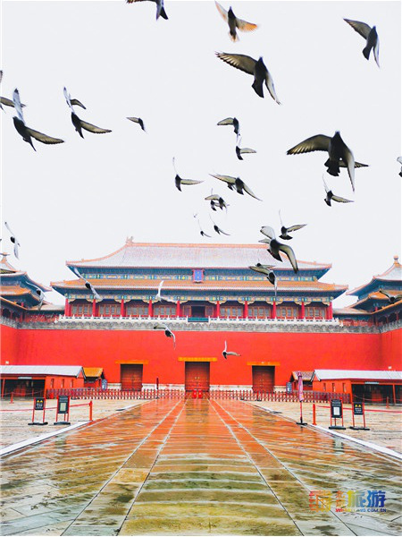 A group of beautiful pictures of the Forbidden City, please enjoy