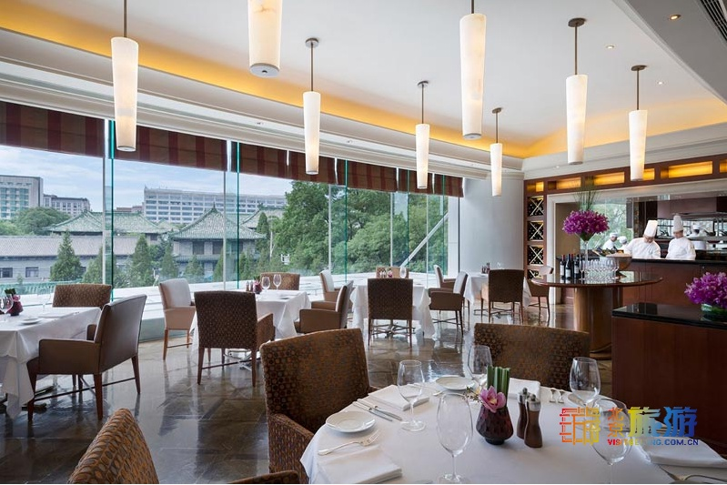 北京東方君悅大酒店凱菲廳情人節晚餐,悅心浪漫蜜味之約