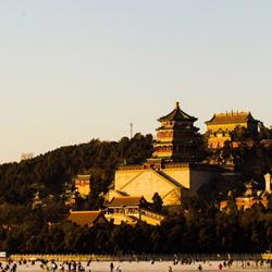 冬日暖陽下的北京