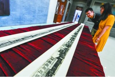 """""""古都新韵——庆祝新中国成立70周年北京街巷胡同风貌展""""正在举办"""
