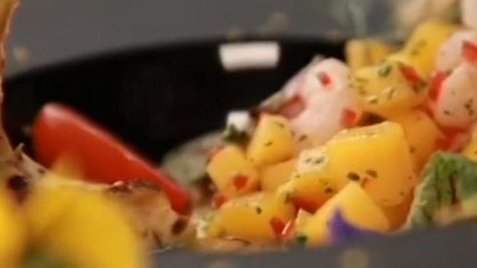 新品試吃季 海霞芒果莎莎