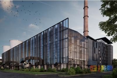北京首钢园香格里拉酒店项目即将完成封顶