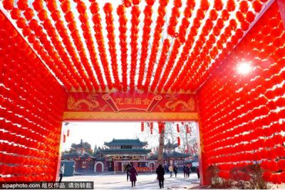 第三十五届地坛、第三十七届龙潭春节文化庙会将于1月25日开门迎客