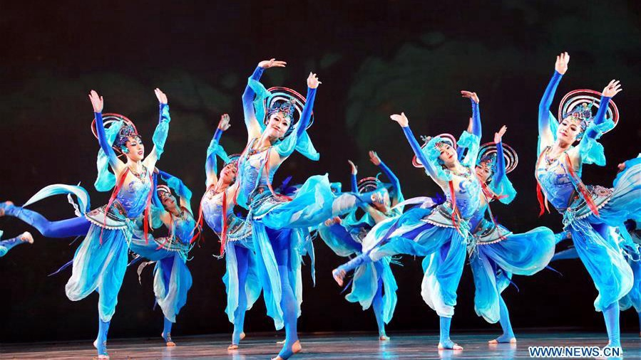 Dunhuang Dance staged in Beijing