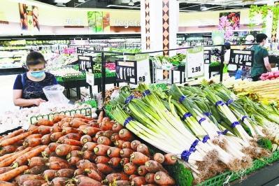 京城超市10种当家菜仍限价 将持续保持价格稳定