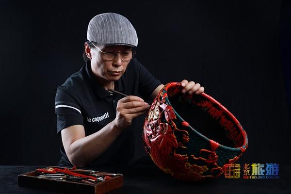 探訪北京工美高級技校2019年非遺傳承人研修班