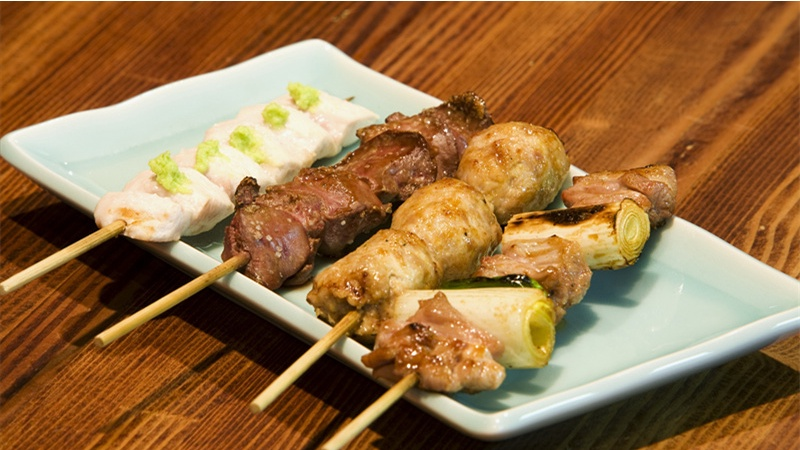 Grill master serves up an authentic yakitori story