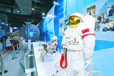 ?#25945;?#31185;技成果科普展在中国科技馆启动