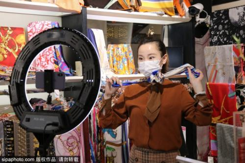 北京市级特色消费街区:秀水街国际购物街区