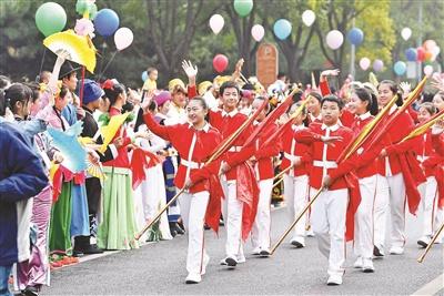 中关村舞蹈节巡游