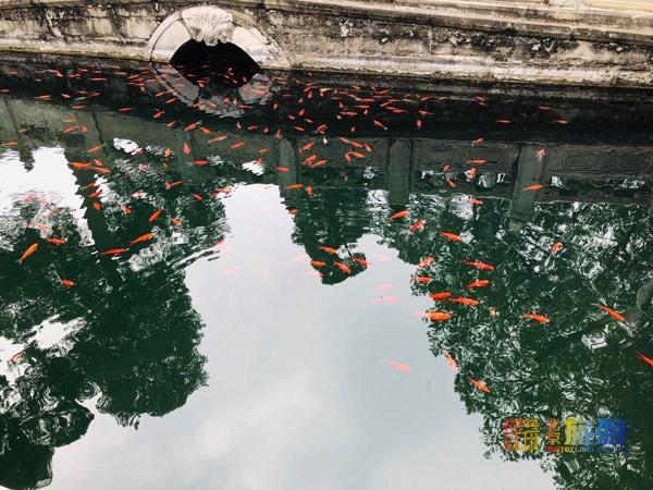 香山公園水泉院,景色清幽