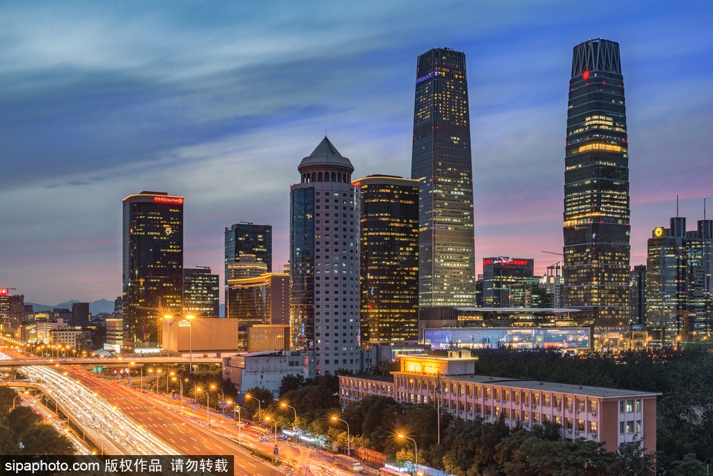 Beijing's plans to develop night life with 'Night Capital' landmarks