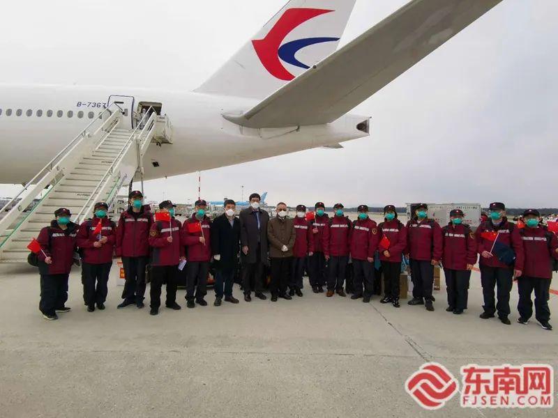 第三批中国抗疫医疗专家组抵达米兰