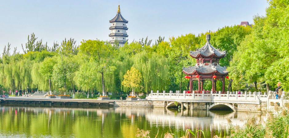 """北京周邊這座百年""""江南園林"""",已美成一幅山水畫!而且還免費"""