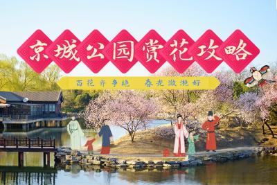 京城公园赏花攻略