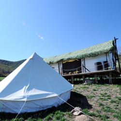 海坨山谷帐篷酒店