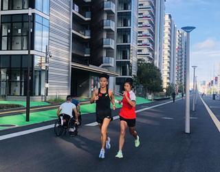 中国运动员在东京积极备战残奥会