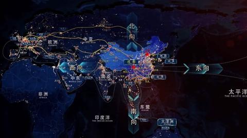 成都青白江区国际铁路港