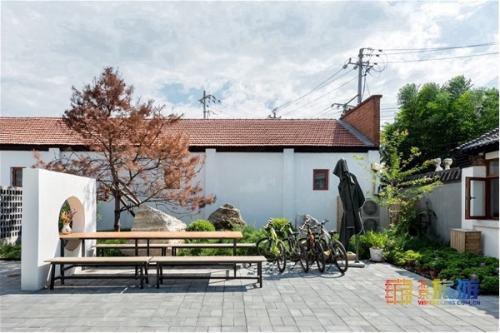 京郊民宿:庭前院后