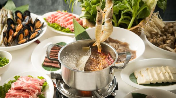 Hot Pot at Grand Cafe, Grand Hyatt Beijing at Oriental Plaza