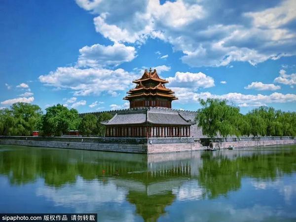 角楼之美:传说角楼是紫禁城的镇城宝物