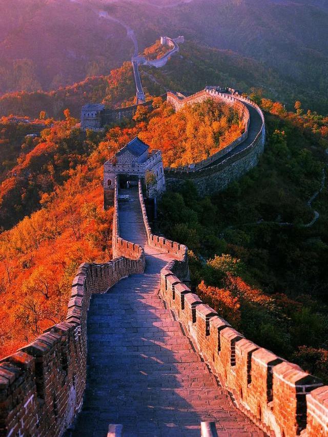 北京懷柔慕田峪長城紅葉盛裝來臨!這個周末剛剛好!
