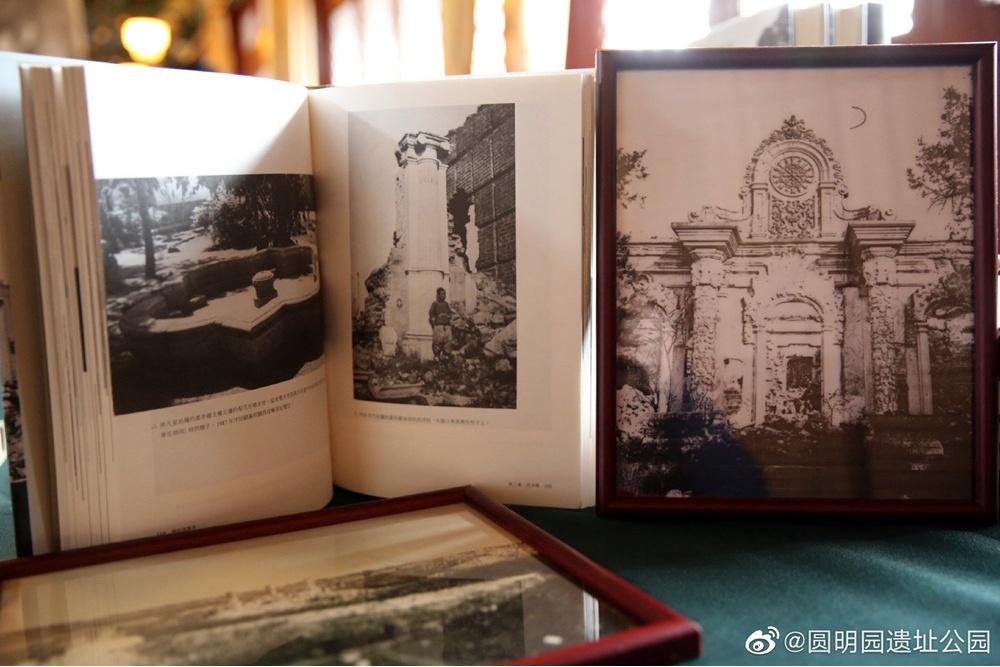 원명원, 옛 사진 365점 발표…龍首 동상 사진 최초 공개