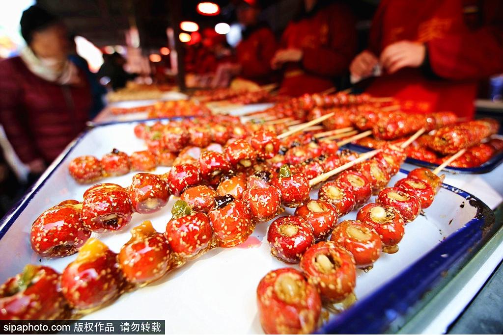 La mejor gastronomía callejera de Beijing