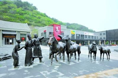 八達嶺特色旅游文化街提質升級 全新亮相