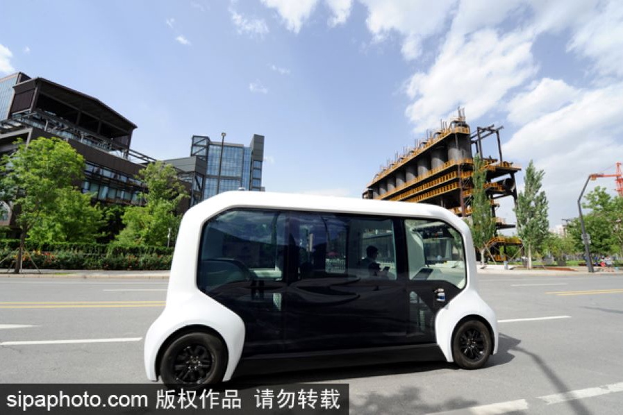 New infrastructure steers driverless vehicles into fast lane
