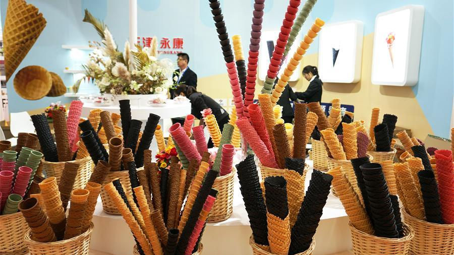 China Int'l Ice Cream Industry Exhibition kicks off in China's Tianjin