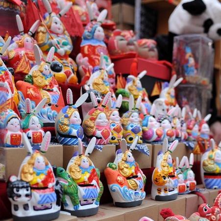 El Señor Conejo: un embajador de la vieja Beijing