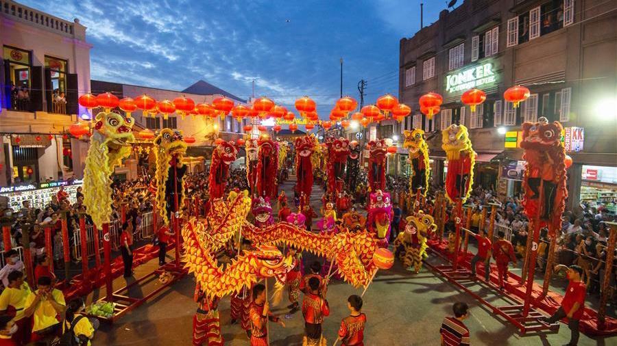Highlights of Lantern Festival celebrations in Malacca, Malaysia