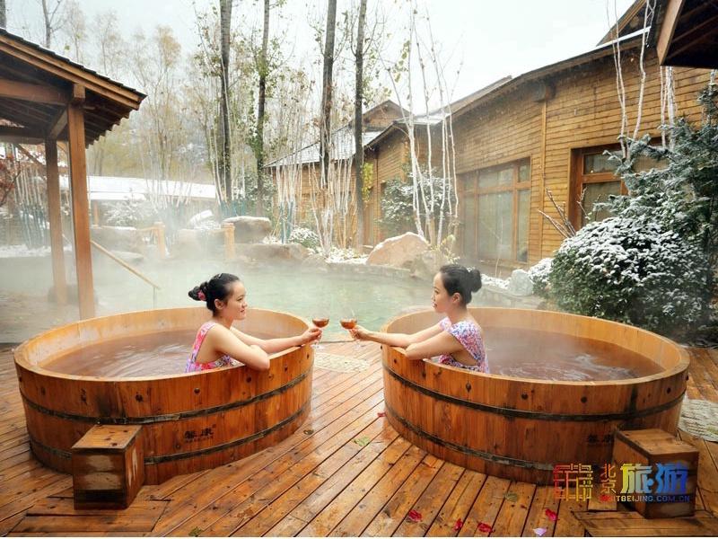 來民宿泡溫泉,冬日里尋一處溫暖之所