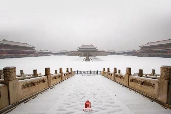 空無一人的360°故宮雪景啥感覺?又一波高清美圖來了!顏值爆表!