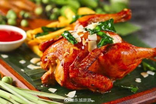 燦都東南亞餐廳:椰香烤雞超級推薦