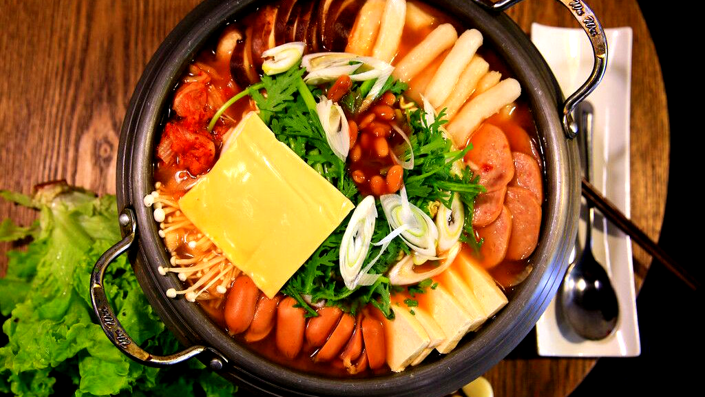 Feignez de manger la fondue coréenne à la Corée du sud
