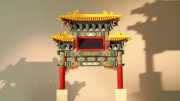 文化京津冀 :古建模型制作技艺