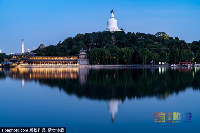 北京古建的前世今生 北海公園白塔下埋伏著大炮