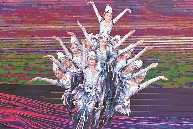 第17屆中國吳橋國際雜技藝術節 精彩瞬間炫亮雜技狂歡