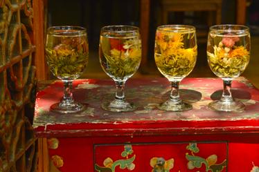 北京の茶室で落ち着きを取り戻ろう