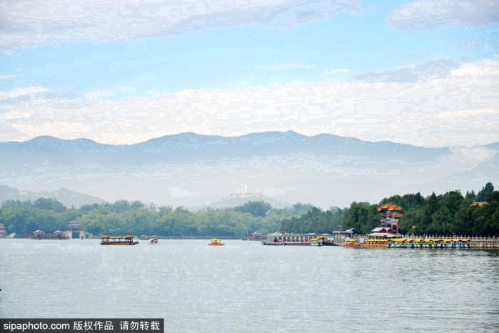 여름 : 베이징의 황실원림, 여름 풍경이 매혹적이다
