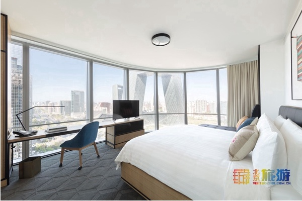 首屆北京網紅打卡地:新國貿飯店