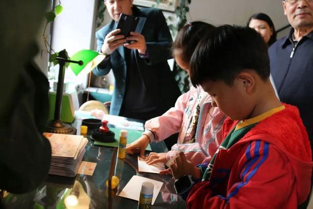 京味文化體驗周系列活動之四:未來郵局書寫未來信