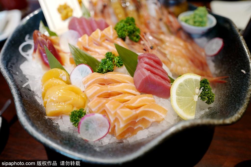 北京富力萬麗酒店BLD西餐廳開自助啦 生魚片不限量