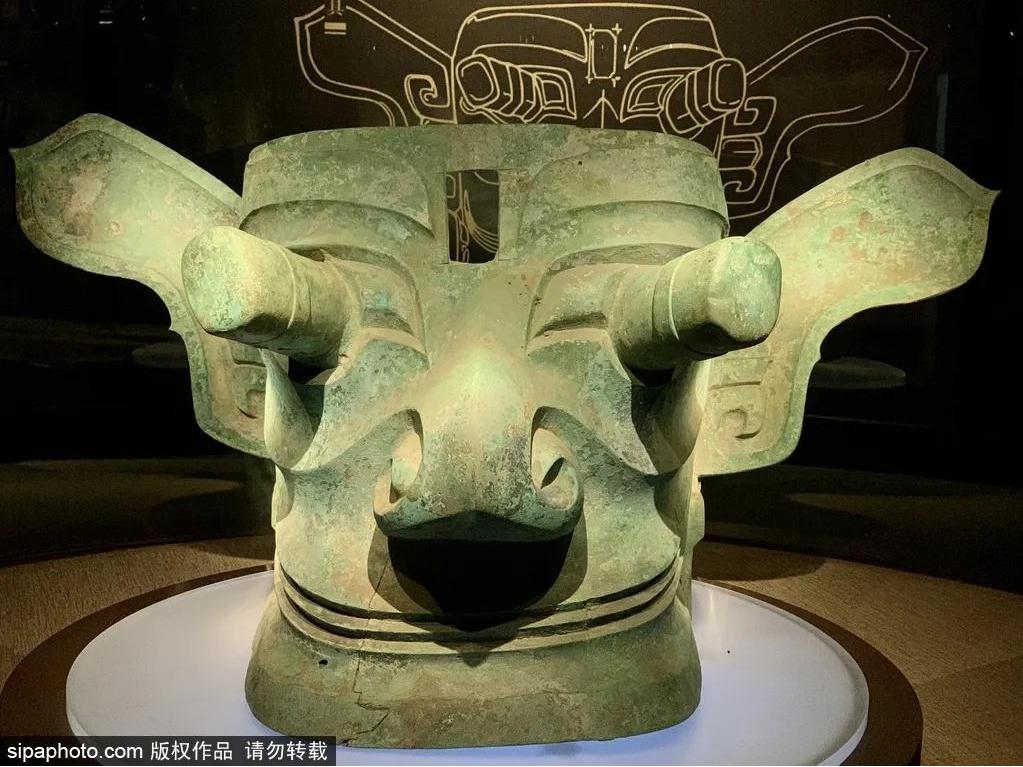不用去四川就能看三星堆文物?是的!就在北京!