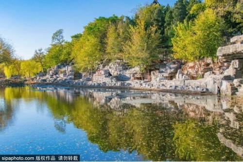 """北京周邊這座百年""""江南園林"""",已美成一幅山水畫!而且還免費~"""